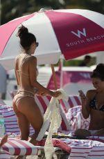 ALEXANDRA MICHELLE in Bikini at a Beach in Miami 05/30/2017