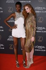 ALEXINA GRAHAM at L'Oreal 20th Anniversary Party at Cannes Film Festival 05/24/2017