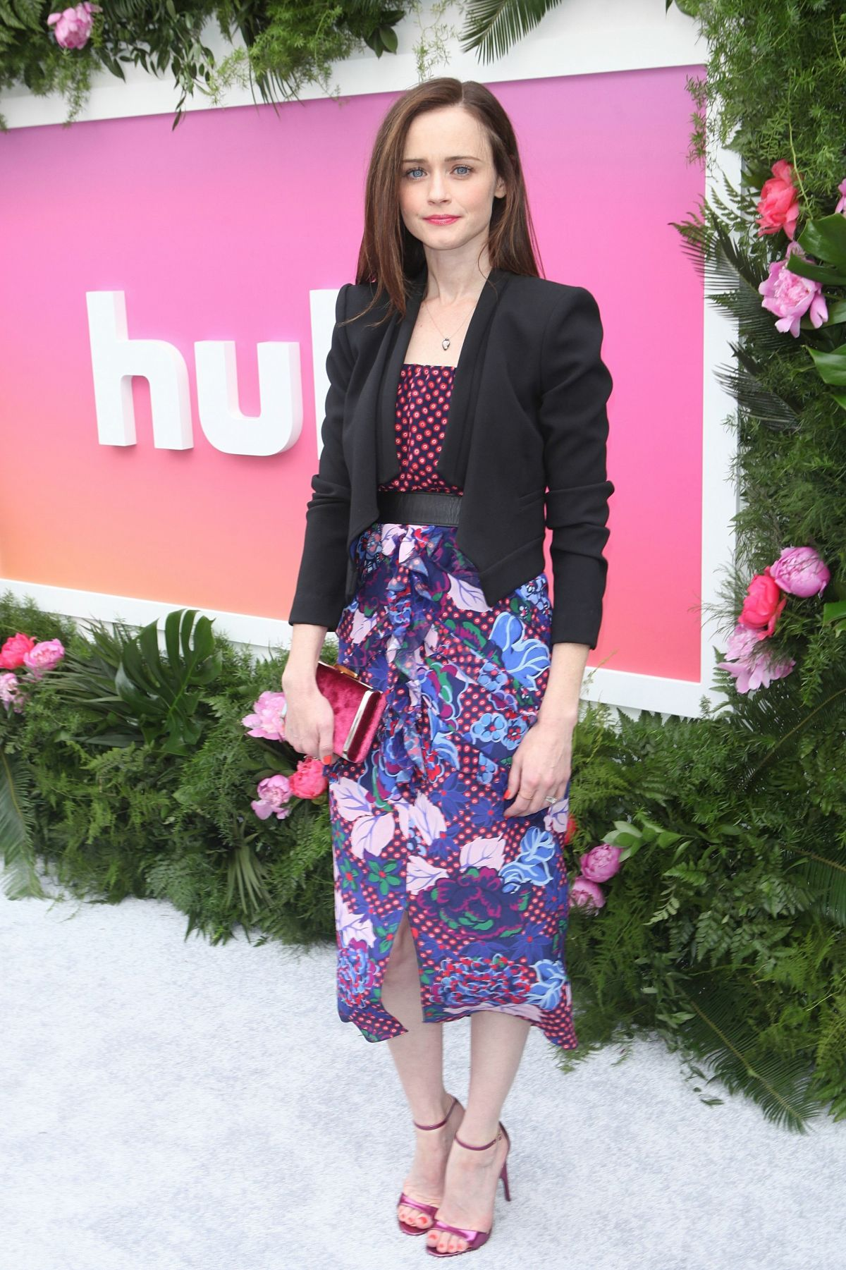 ALEXIS BLEDEL at Hulu Upfront in New York 05/03/2017 ...