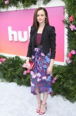 ALEXIS BLEDEL at Hulu Upfront in New York 05/03/2017