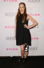 ALEXIS KNAPP at Nylon Young Hollywood May Issue Party in Los Angeles 05/02/2017