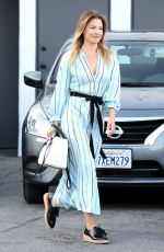 ALI LARTER Leaves Meche Hair Salon in Los Angeles 05/03/2017