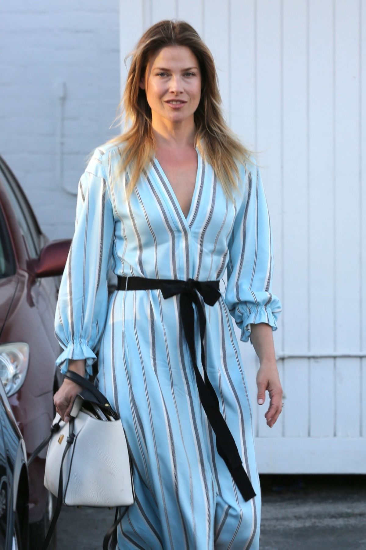 ALI LARTER Leaves Meche Hair Salon in Los Angeles 05/03 ...