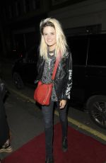 ALISON MOSSHART Arrives at Alexa Chung Launch Party in London 05/30/2017