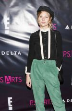 ALY MICHALKA at P.S. Arts Party in Hollywood 05/04/2017