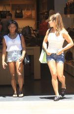 ALY RAISMAN and SIMONE BILES Out Shopping at The Grove in Los Angeles 05/20/2017