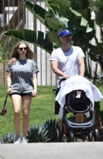 AMANDA SEYFRIED Out and About in West Hollywood 05/01/2017