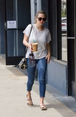 AMANDA SEYFRIED Out and About in Westwood 05/02/2017