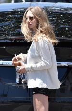 AMANDA SEYFRIED Out for Iced Coffee in West Hollywood 05/08/2017