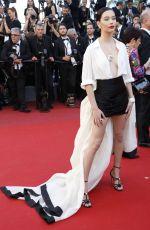 AMANDA STEELE at Okja Premiere at 70th Annual Cannes Film Festival 05/19/2017