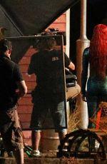 AMBER HEARD on the Set of Aquaman in Gold Coast 05/26/2017