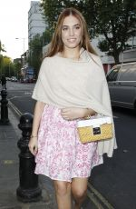 AMBER LE BON at Ivy Chelsea Garden Summer Party in London 05/09/2017