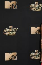 AMBER ROSE at 2017 MTV Movie & TV Awards in Los Angeles 05/07/2017