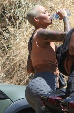 AMBER ROSE Out and About in Los Angeles 05/04/2017
