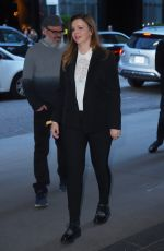 AMBER TAMBLYN Arrives at MOMA in New York 05/15/2017