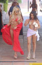 AMBER TURNER in Bikini Out in Marbella 05/30/2017