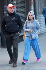 AMERICA FERRERA Out in New York 05/10/2017