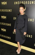 AMIRAH VANN at For Your Consideration Event for Underground in Los Angeles 05/02/2017