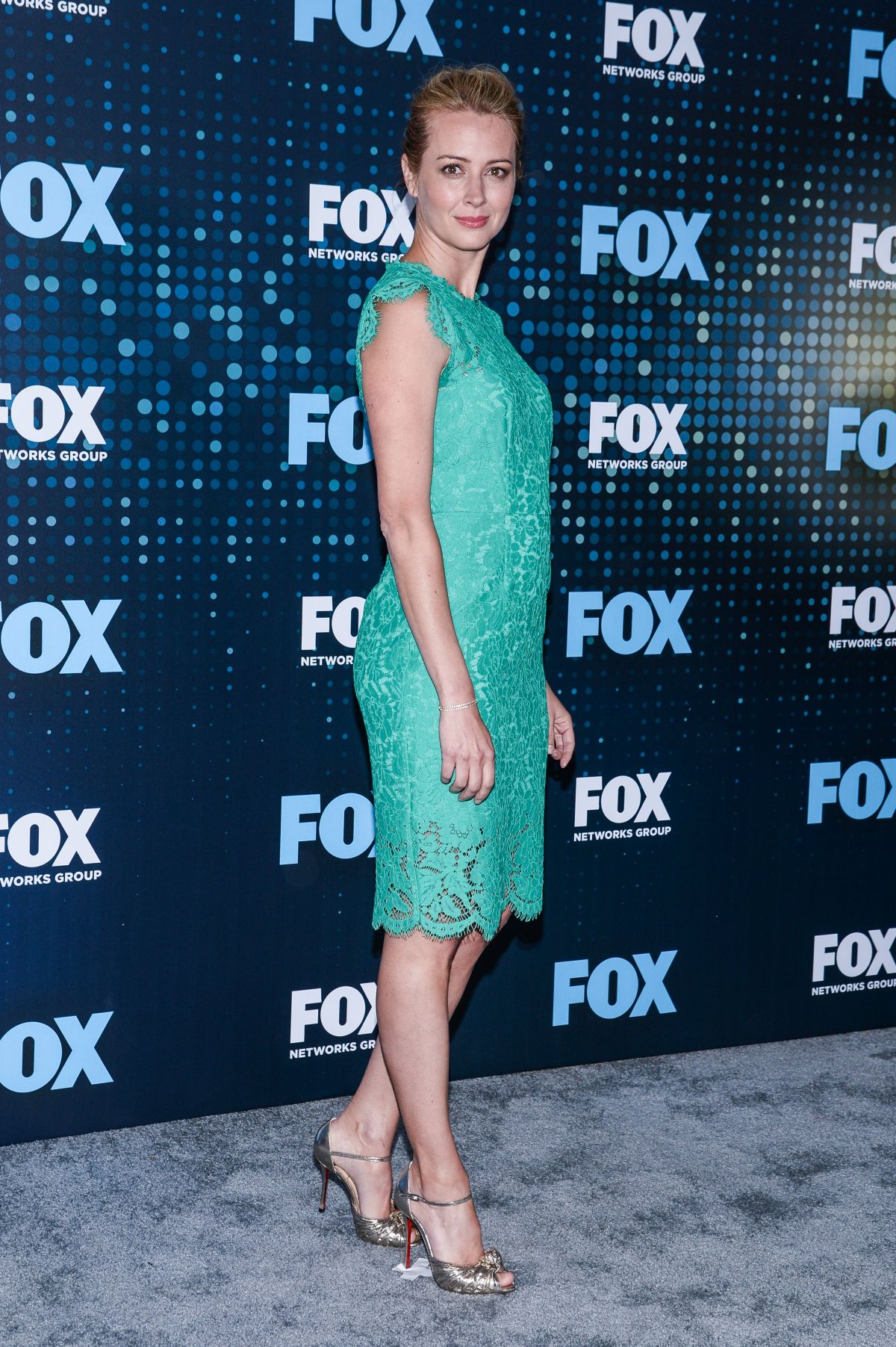 AMY ACKER at Fox Upfront Presentation in New York 05/15/2017