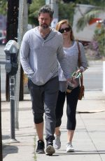 AMY ADAMS Leaves a Gym in West Hollywood 05/15/2017