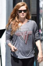 AMY ADAMS Out and About in Beverly Hills 05/11/2017