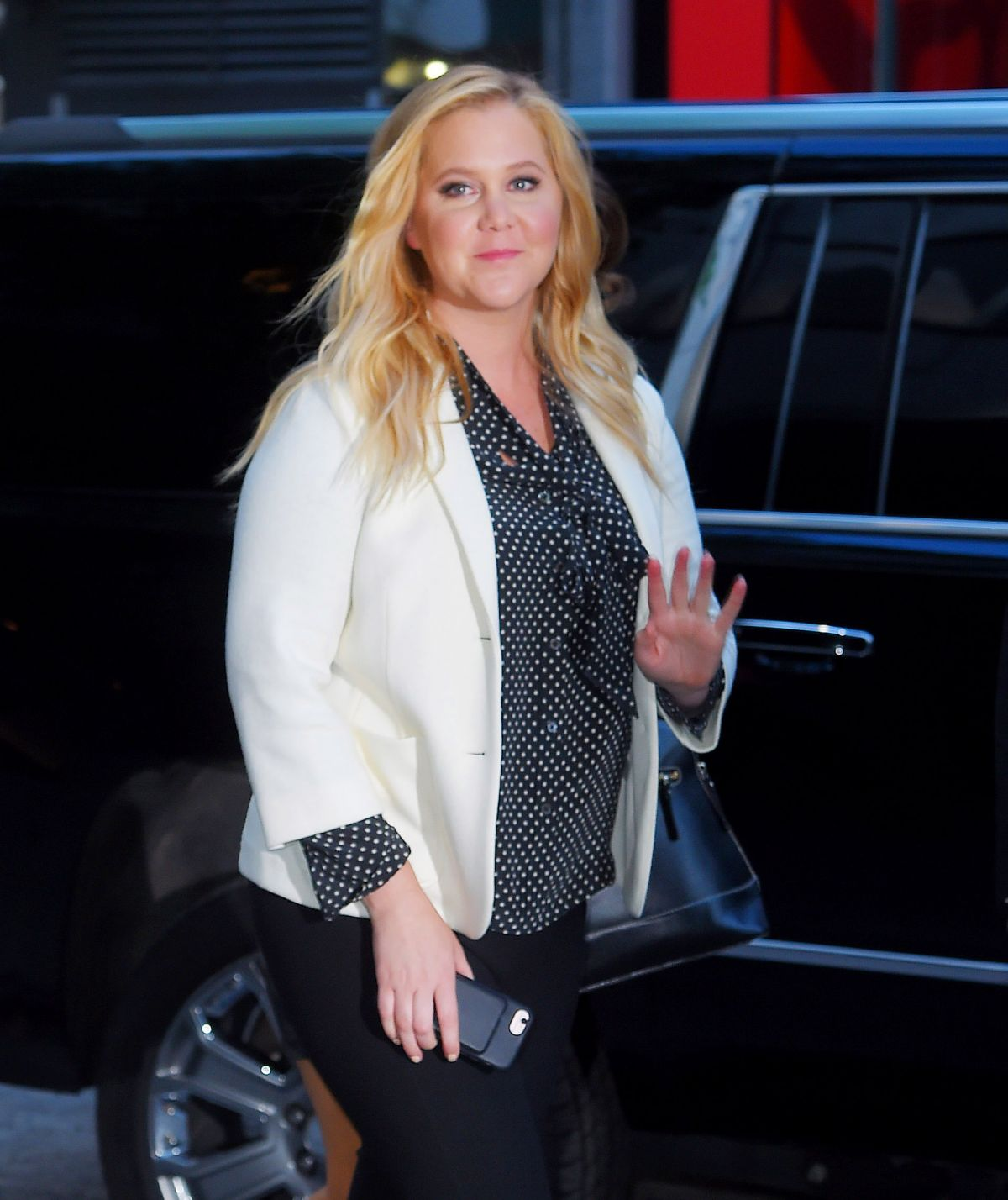 AMY SCHUMER Arrives at MOMA in New York 05/15/2017