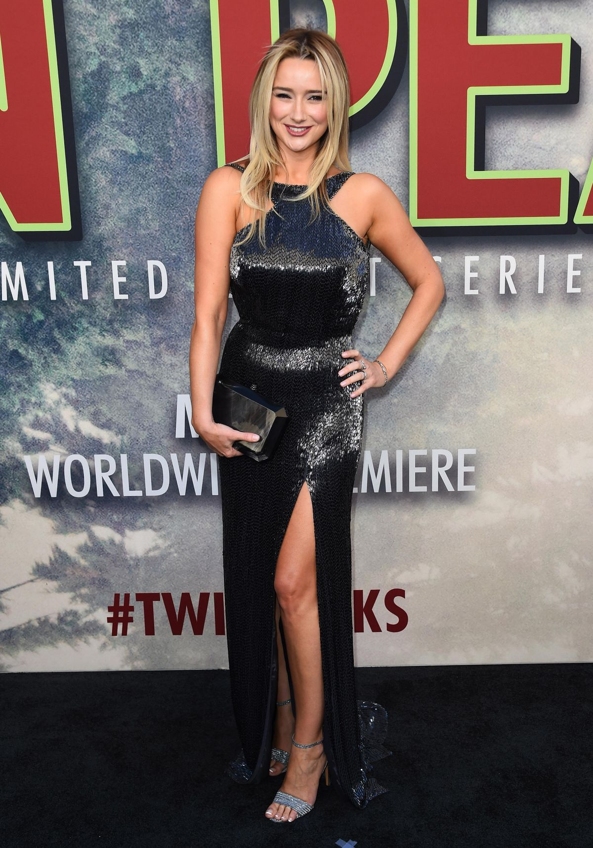 AMY SHIELS at Twin Peaks Premiere in Los Angeles 05/19/2017