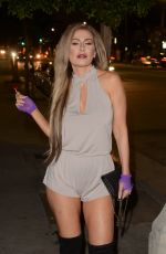 ANA BRAGA at Catch LA in West Hollywood 04/30/2017