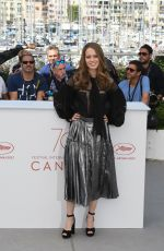 ANA VALERIA BECERRIL at April's Daughter Photocall at 2017 Cannes Film Festival 05/20/2017