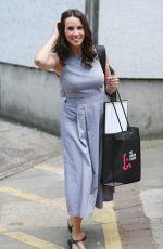 ANDREA MCLEAN Leaves ITV Studios in London 05/24/2017