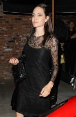 ANGELINA JOLIE Leaves Tao Beauty & Essex in West Hollywood 05/14/2017