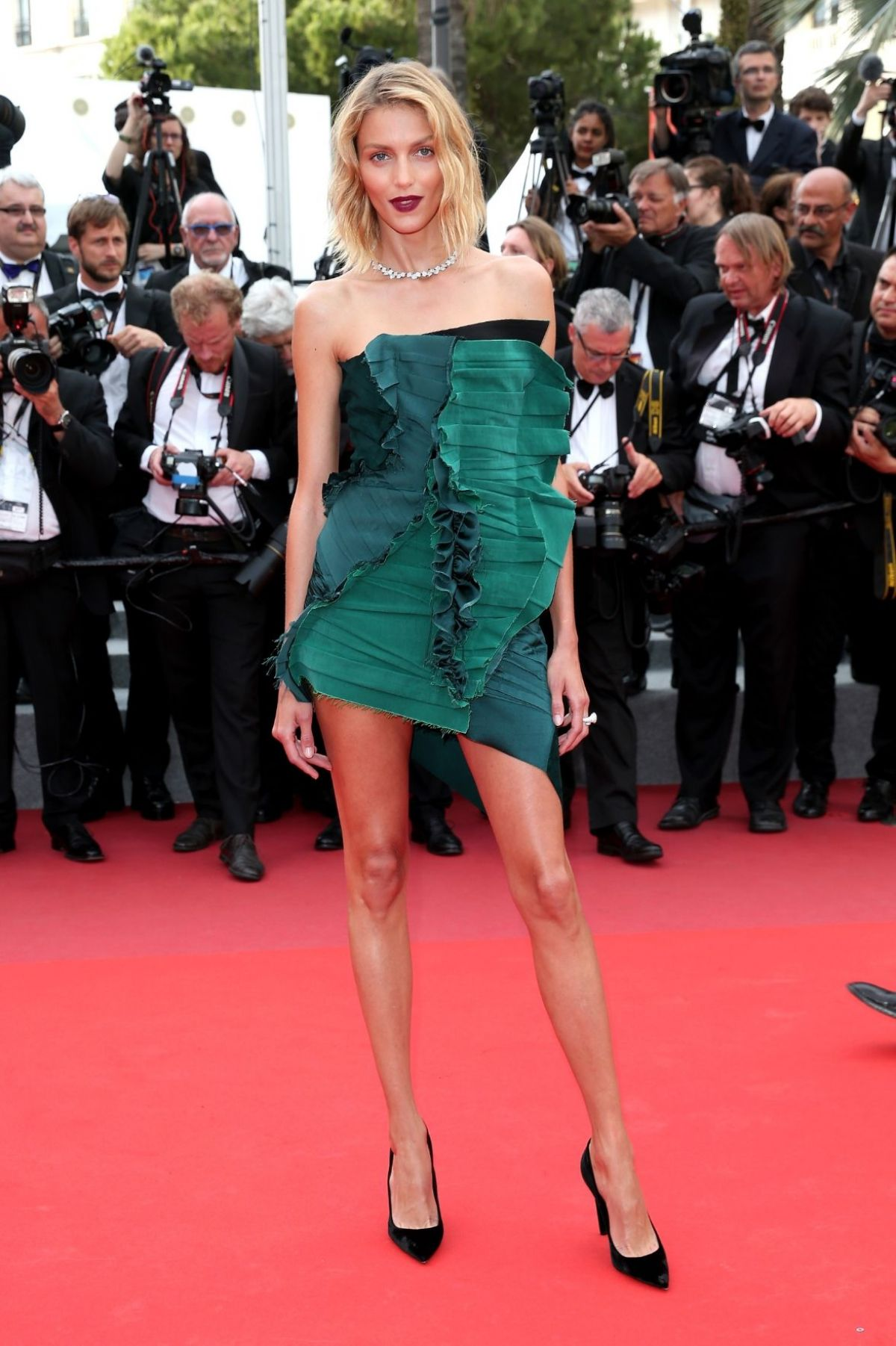 ANJA RUBIK at The Killing of a Sacred Deer Premiere at 70th Annual Cannes Film Festival 05/22/2017