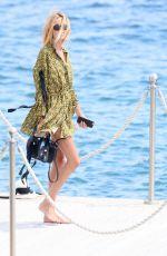 ANJA RUBIK Leaves Hotel Du Cap Eden Roc in Antibes 05/23/2017