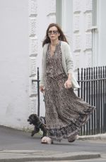ANNA FRIEL Walks Her Dog Out in Windsor 05/16/2017