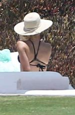 ANNA KENDRICK in Swimsuit at a Hot Tub in Los Cabos 05/14/2017