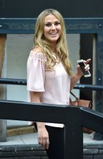 ANNABELLE KNIGHT Leaves ITV Studios in London 05/17/2017