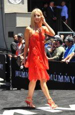 ANNABELLE WALLIS at The Mummy Day Sarcophagus Unveiling in Los Angeles 05/20/2017