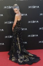 ANNABELLE WALLIS at The Mummy Premiere in Madrid 05/29/2017