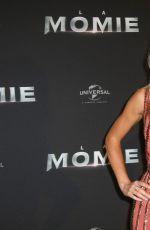 ANNABELLE WALLIS at The Mummy Premiere in Paris 05/30/2017