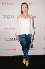 ANNALISE BASSO at Nylon Young Hollywood May Issue Party in Los Angeles 05/02/2017