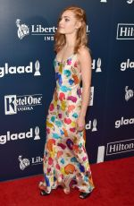 ANNASOPHIA ROBB at Glaad Media Awards 2017 in New York 05/06/2017
