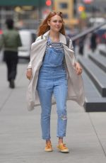 ANNASOPHIA ROBB Out and About in New York 05/11/2017