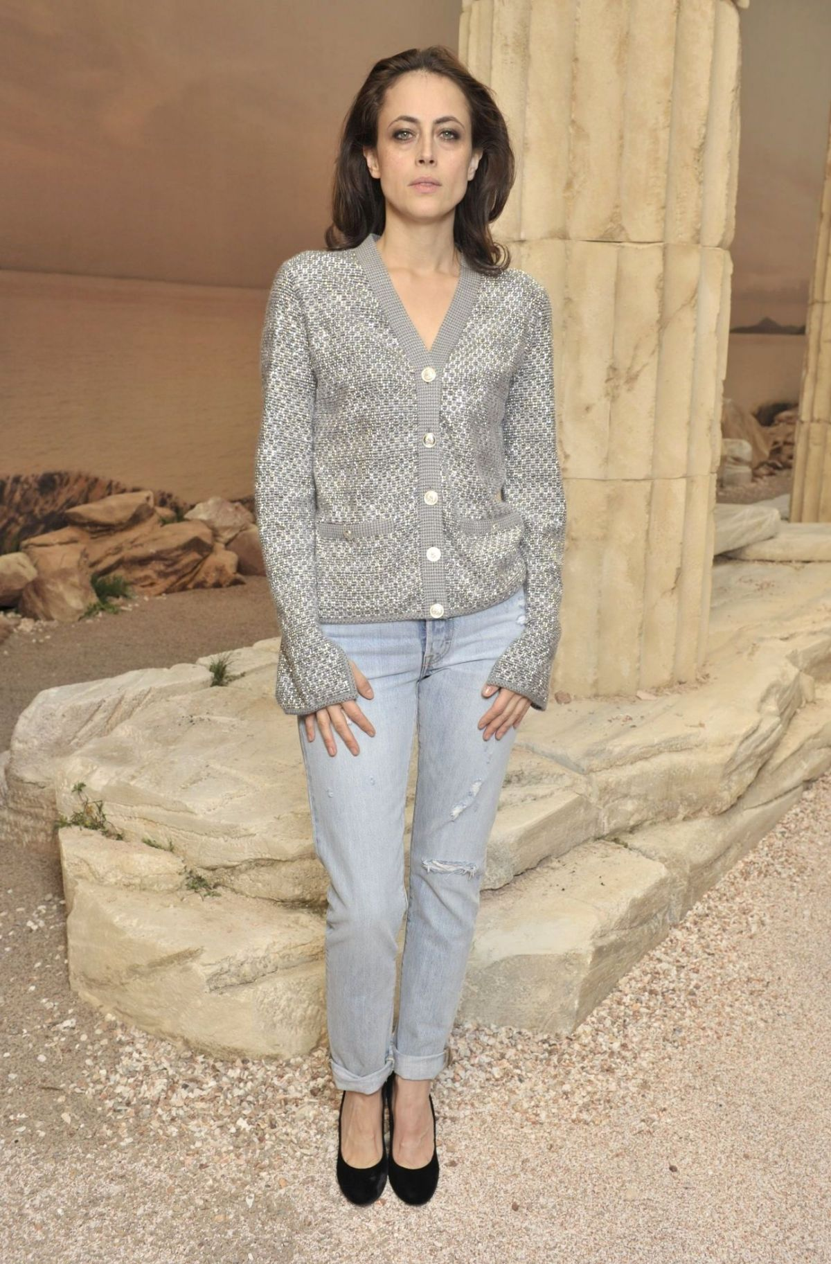 ANNE BEREST at Chanel Cruise 2017/2018 Collection Fashion ...