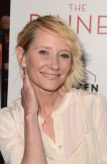 ANNE HECHE at The Dinner Premiere in Los Angeles 05/01/2017
