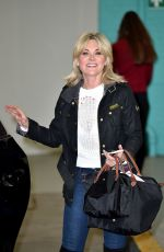 ANTHEA TURNER at ITV Studios in London 05/05/2017