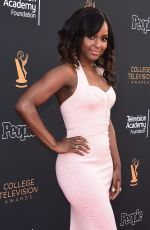 ANTOINETTE ROBERTSON at 2017 College Television Awards in Los Angeles 05/24/2017