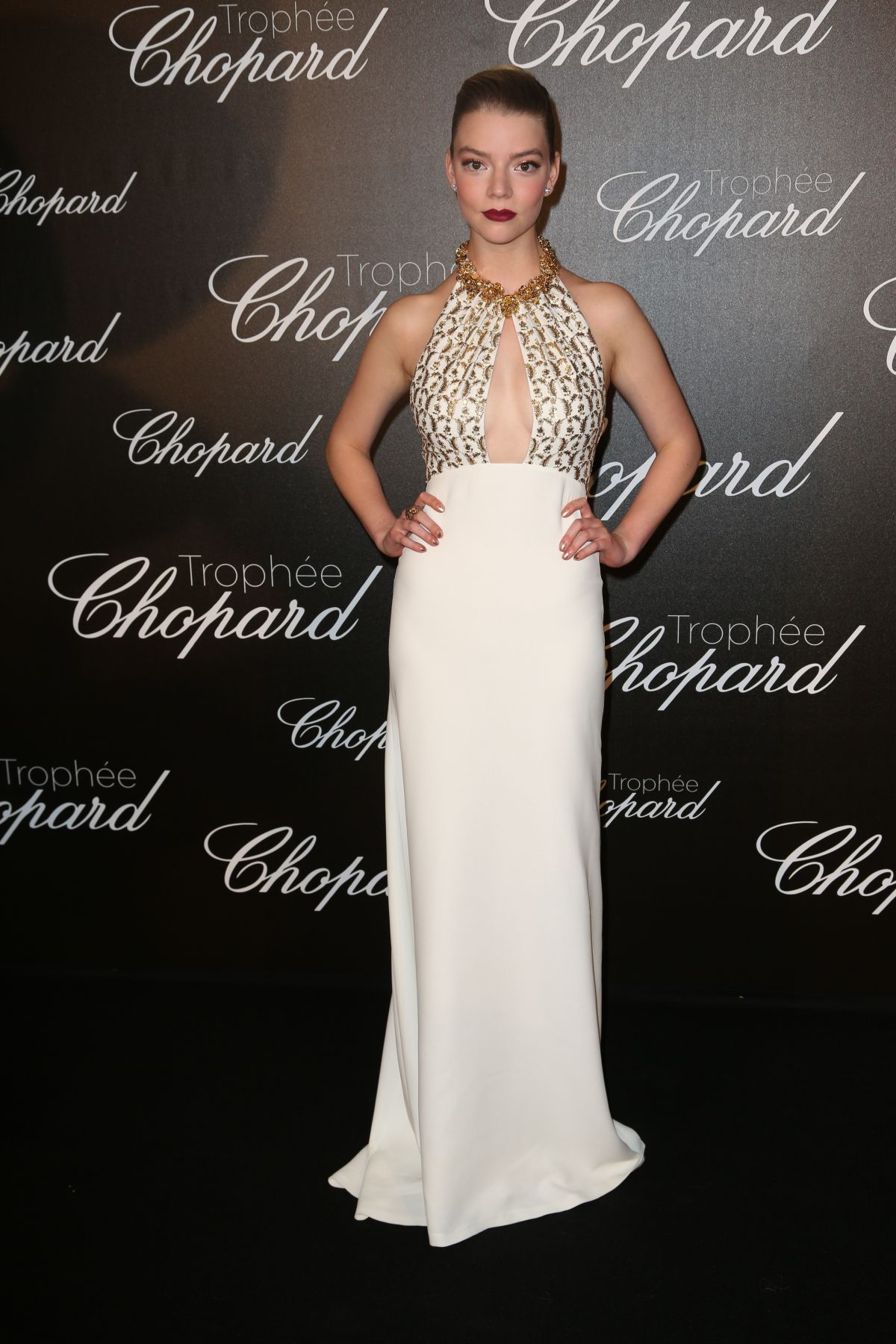 ANYA TAYLOR-JOY at Chopard Trophy Event in Cannes 05/22/2017