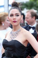 ARAYA A. HARGATE at Loveless Premiere at 70th Annual Cannes Film Festival 05/18/2017