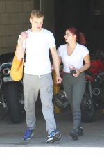 ARIEL WINTER Arrives at a Gym in Los Angeles 05/18/2017
