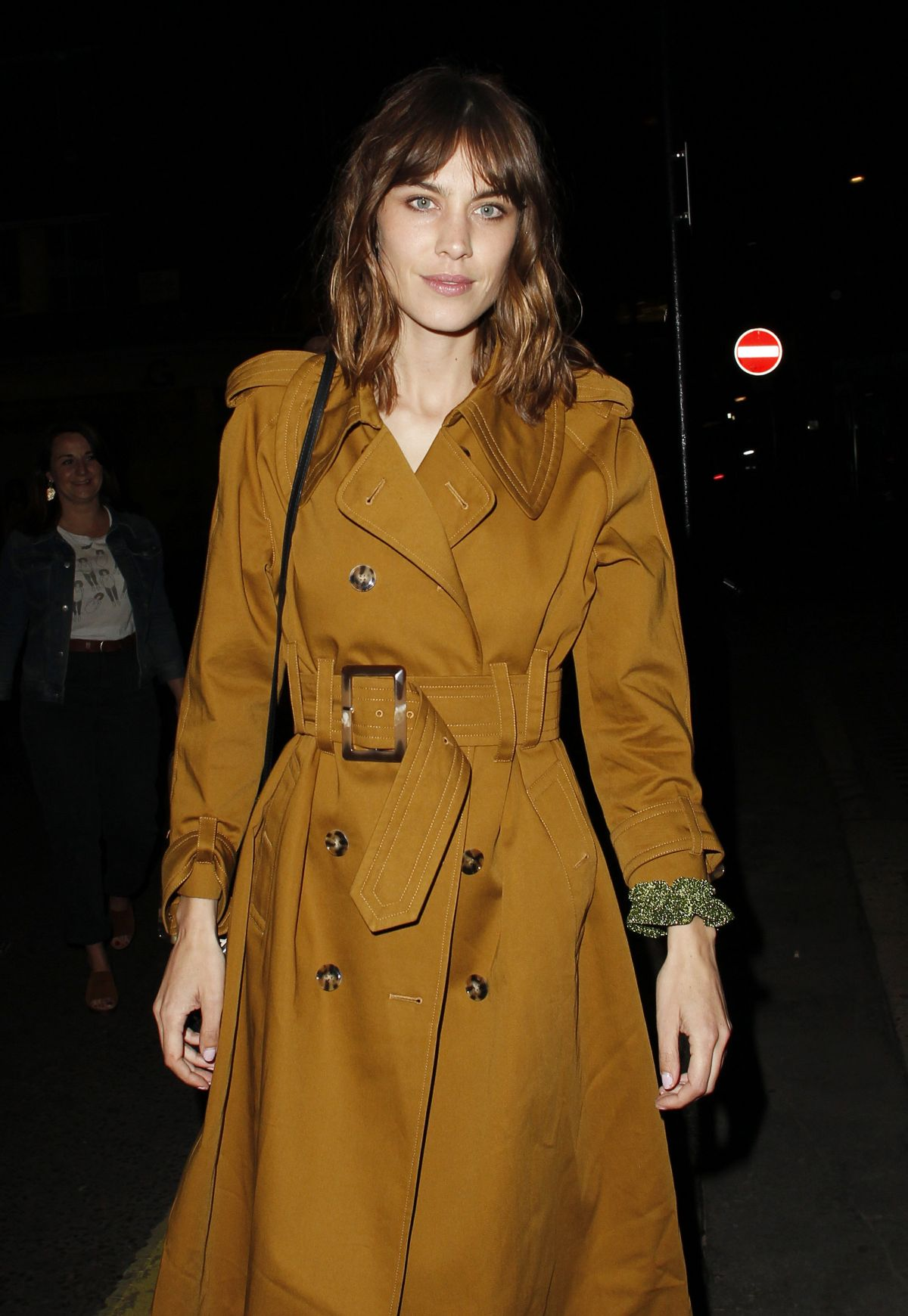 ALEXA CHUNG Arrives at Alexa Chung Launch Party in London 05/30/2017
